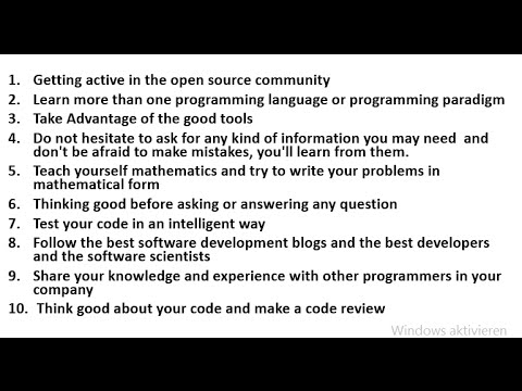 10 golden tips for becoming a better programmer نصائح ذهبية لكي تصبح مبرمج أفضل