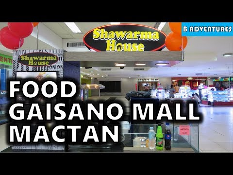 Food & Gaisano Island Mall Mactan, Philippines S3, Travel Vlog #90