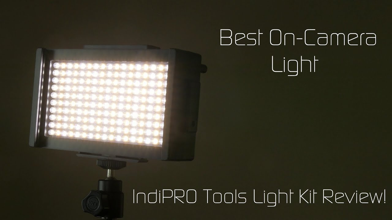 Best On Camera Led Light Indipro Tools Kit Review