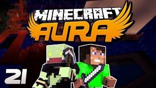 Minecraft AURA #21 - Der geheime Notausgang! mit Dner | ungespielt