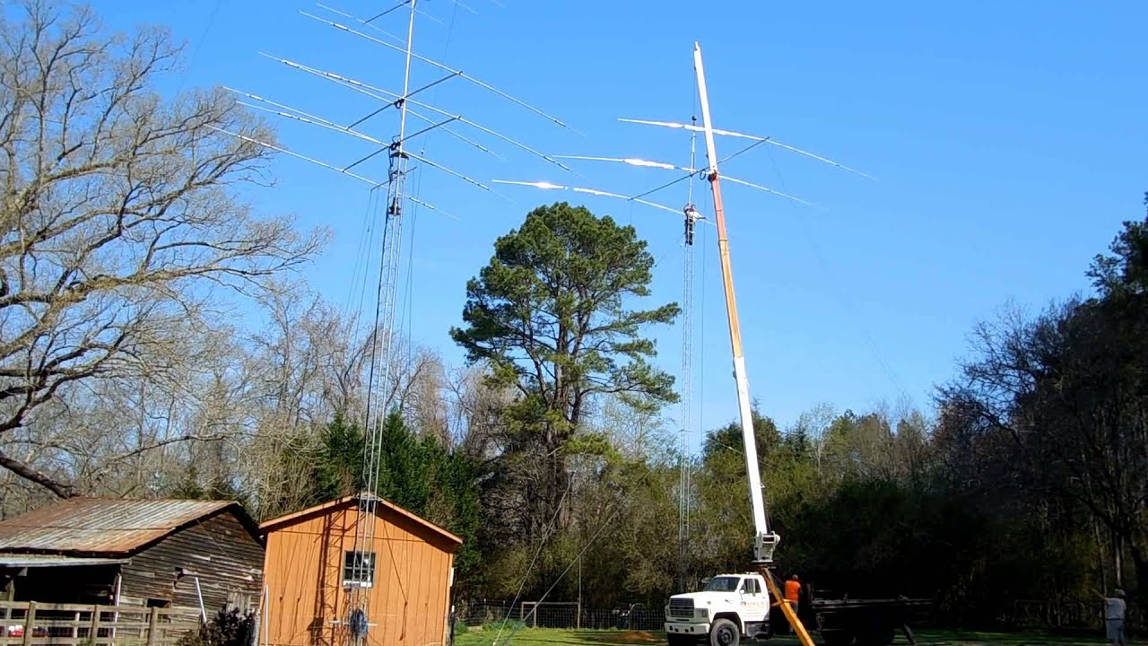 Dave's new Tower and 40 Meter Beam