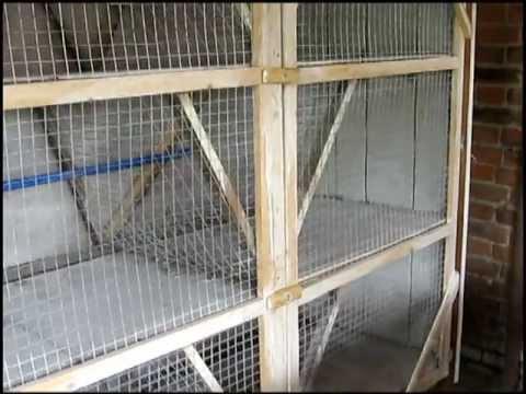 Клетки для кроликов своими