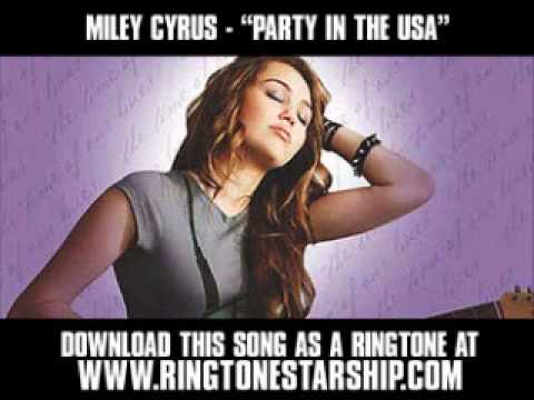 Miley Cyrus - Party In The USA [ New Video + Download ]