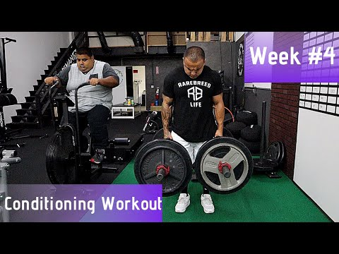 Weight-Loss Transformation | Week 4 Conditioning Workout