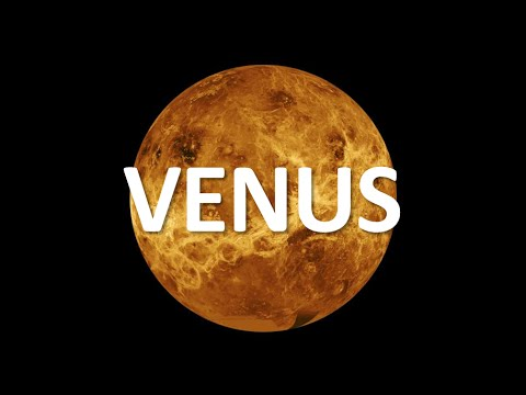 Random Interesting Facts - The Planet Venus - YouTube