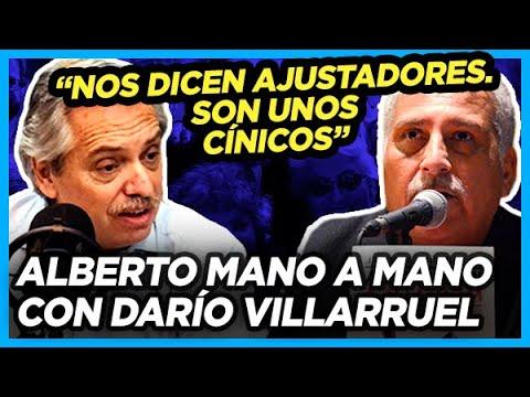 ALBERTO RESPONDE A CRÍTICAS