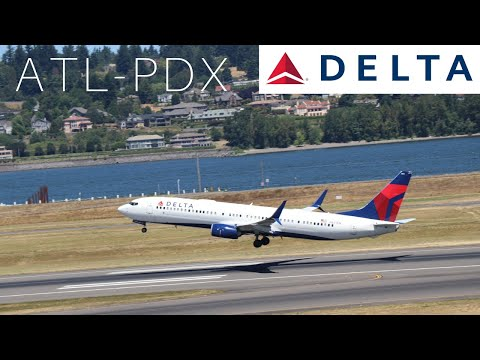 Trip Report Delta Airlines 737-900 ER ATL/PDX