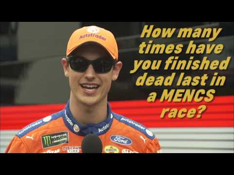 How well does Joey Logano know his career stats?