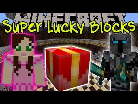 Minecraft: PRESENT SUPER LUCKY BLOCK CHALLENGE GAMES - Lucky Block Mod - Modded Mini-Game