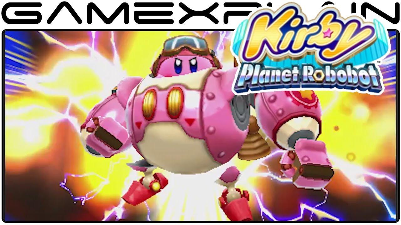 Kirby: Planet Robobot - Reveal Trailer (Nintendo Direct High ...