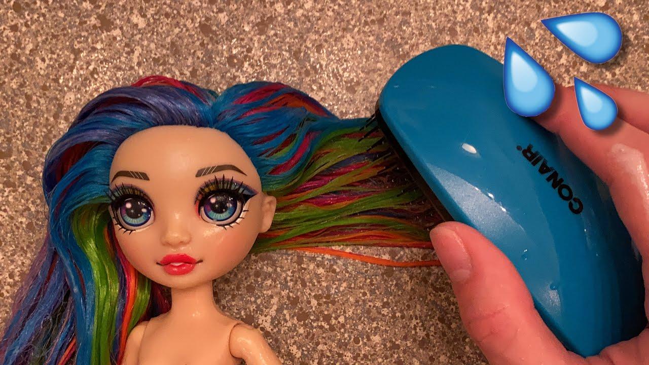 Rainbow High Amaya Raine Hair Transformation #Shorts   Zombiexcorn