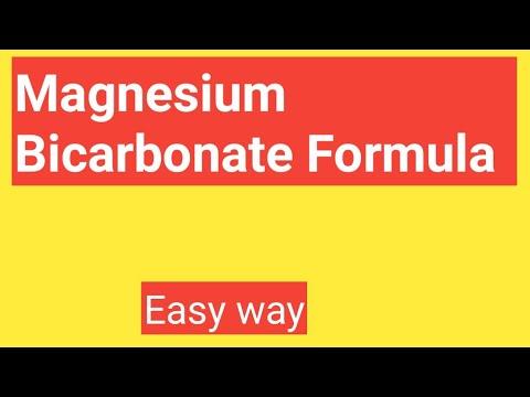 Magnesium Bicarbonate Formula