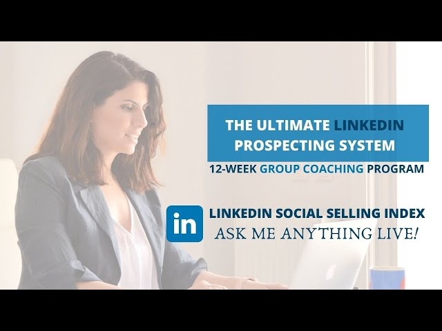 Social Selling Index - Q&A Session