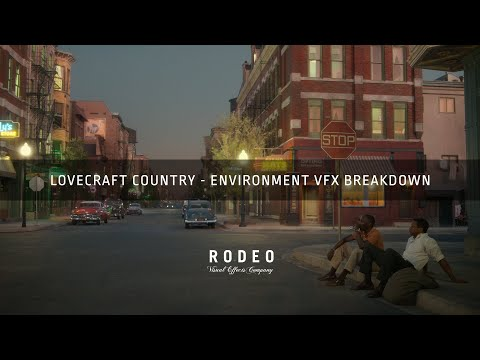 Lovecraft Country Environments   VFX Breakdown by RodeoFX