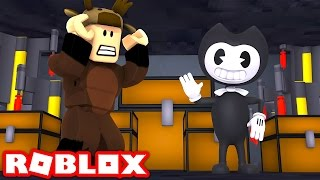 BENDY AND THE INK MACHINE IN ROBLOX! (Chapter 1)