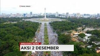 Begini Penampakan Aksi 2 Desember dari Udara