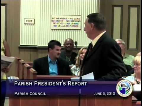 Parish Council - June 03, 2010
