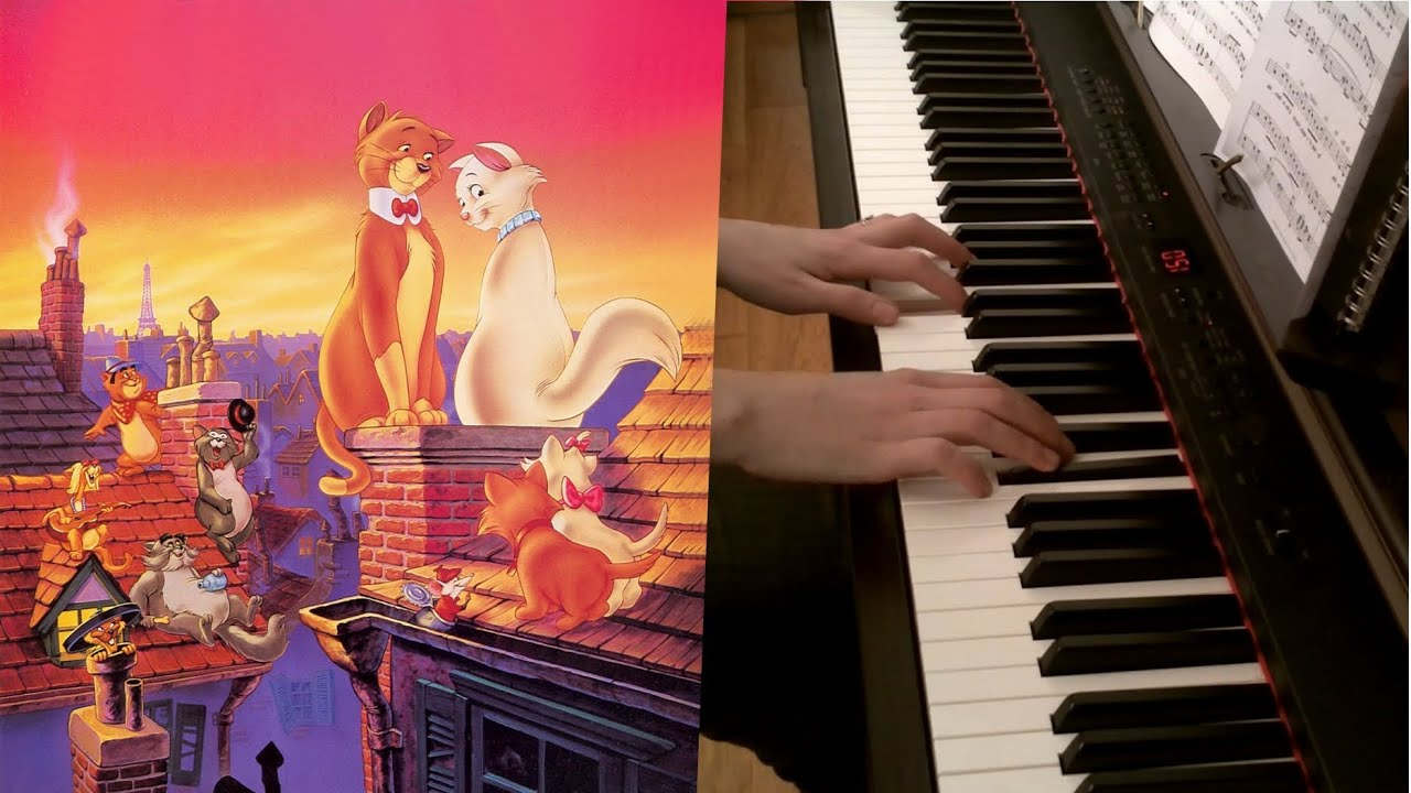 Aristocats everybody wants to be a cat chords