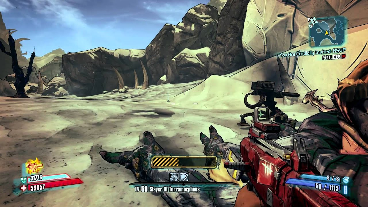 Borderlands 2 - Savage Lee Location - 2 Kills 1 Run - Unkempt Harold
