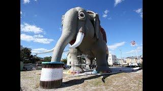 Lucy the Elephant celebrates its 137th birthday.
