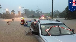 Queensland floods: Three deaths and major damage caused during flash floods in Australia - TomoNews