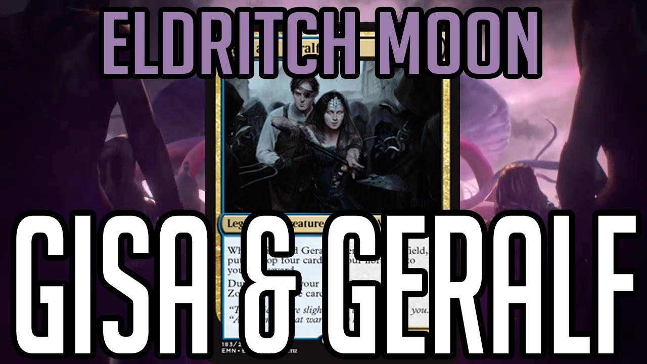 Gisa and Geralf Foil x1 Magic the Gathering MTG Eldritch Moon