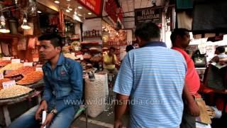 Khari Baoli in Old Delhi :Asia