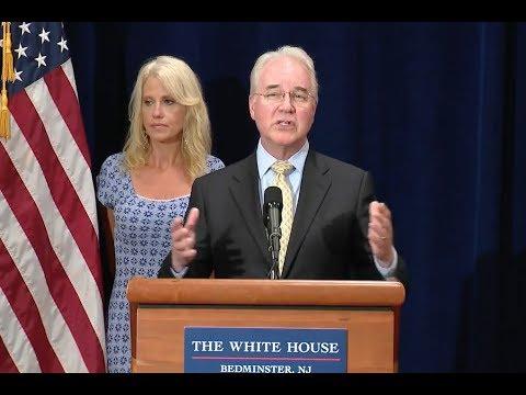 "Health Secretary Price Calls Opioid Epidemic ""An Emergency"""