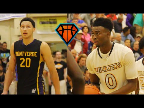 Ben Simmons & Jaylen Brown FACE OFF In Front Of Sell Out Crowd!! | 2014 City of Palms Matchup