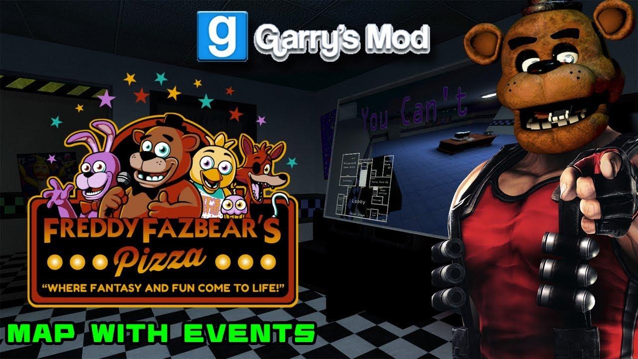Garry's Mod: Freddy Fazbear's Pizza Event - Night 1