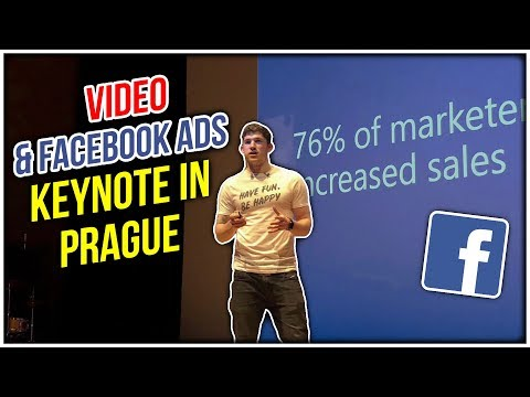 VIDEO & FACEBOOK ADS KEYNOTE IN PRAGUE