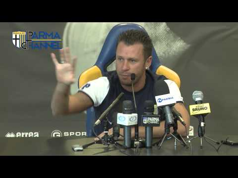 Collecchio, 25 luglio: Conferenza stampa di Antonio Cassano