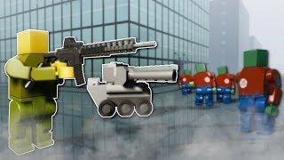 ZOMBIE APOCALYPSE IN CITY! - Brick Rigs Multiplayer Gameplay - Lego Zombie Apocalypse