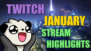 January Twitch Stream Highlights! Borderlands / DbD / XCOM / Gungeon