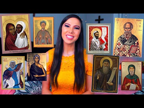 Top 20 Black & African Catholic Saints! | Augustine, Josephine Bakhita, Athanathius, Perpetua etc.