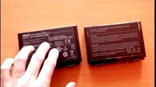 видео Аккумулятор Asus K40AB / A32-F82 / 11,1V / 4400mAh / 48Wh (черный) — купить по доступной цене в интернет-магазине CHIP