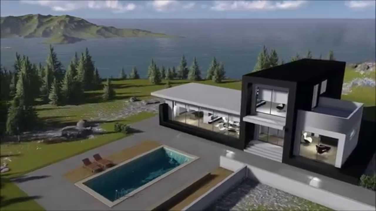 Casa acciaio cold formed steel cfs suprema youtube - Casa in acciaio prezzo ...