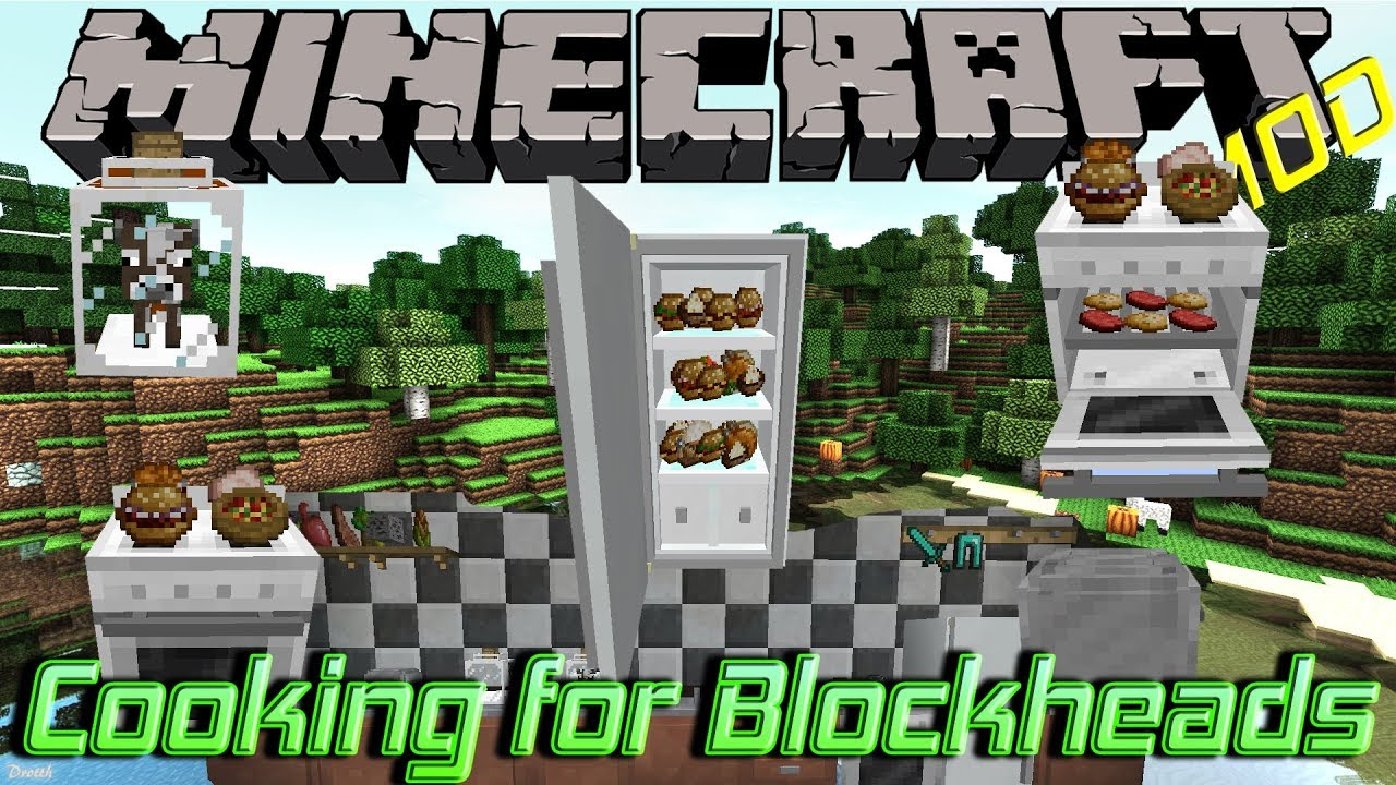 Minecraft Kitchen Mod 1.12.2 Cooking For Blockheads Minecraft 1 12 2 Mod Showcase 20