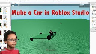 How to Make a Car in Roblox Studio (2019)