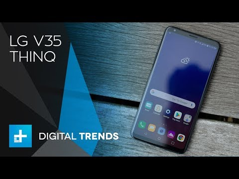 LG V35 ThinQ Hands-On Review