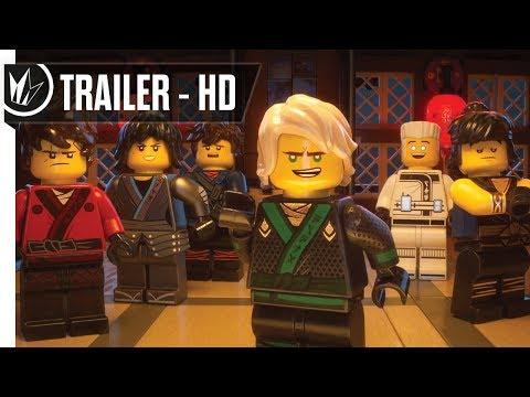 The LEGO NINJAGO Movie Official Comic Con Trailer #2 (2017) -- Regal Cinemas [HD]