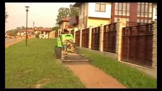 видео Рулонный газон заменит посевной