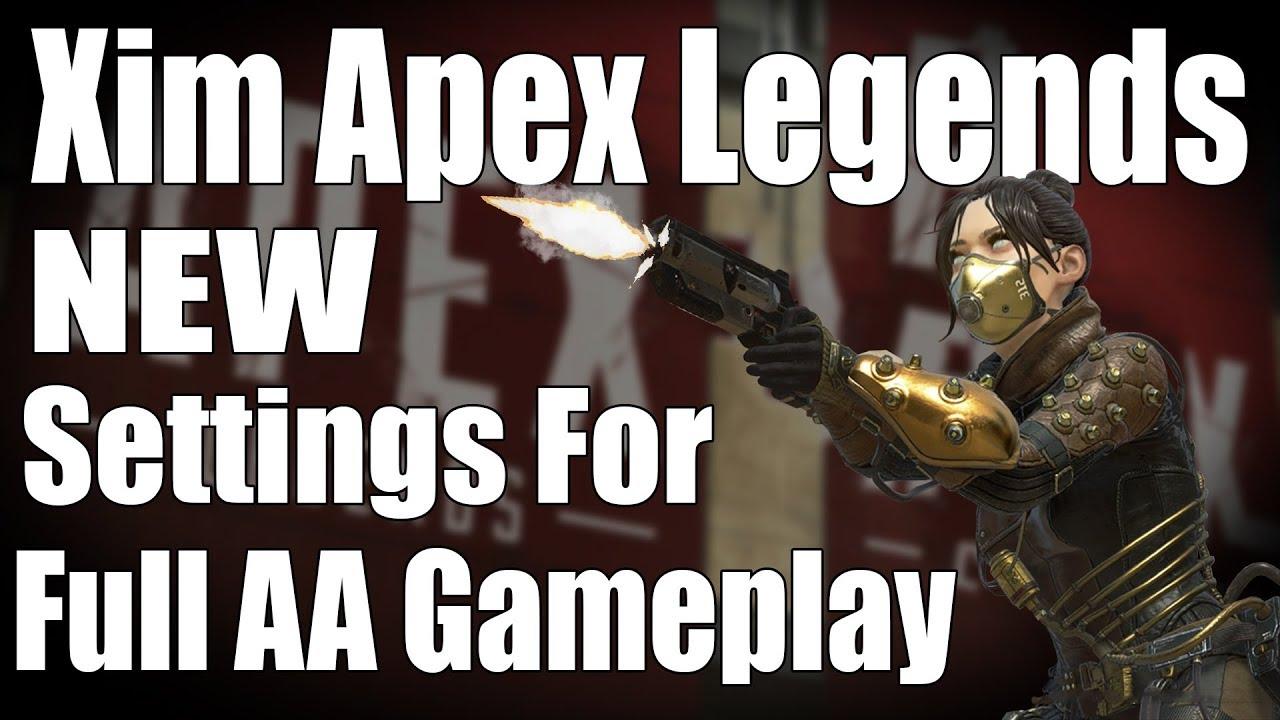 Xim Apex Pubg Settings Ps4