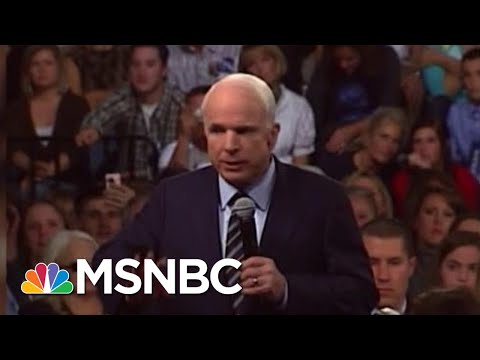 Joe: John McCain Proved His Character Every Day | Morning Joe | MSNBC