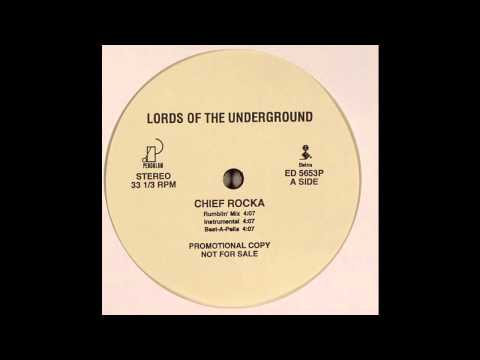 Lords of the Underground  Chief Rocka Instrumental
