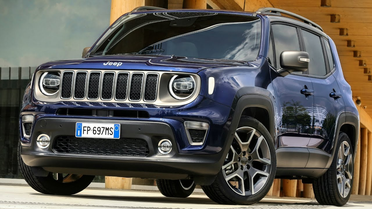 2019 Jeep Renegade Trailhawk And Jeep Renegade Limited Enhanced