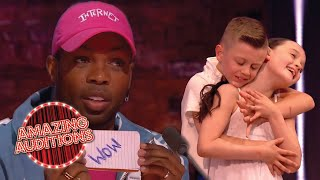 Todrick Hall's FAVOURITE Auditions On The Greatest Dancer   Amazing Auditions