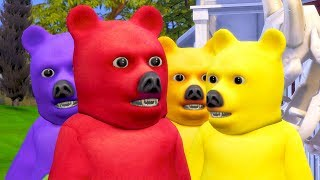 ARMY OF BEARS // The Sims 4: 100 Baby Challenge #172
