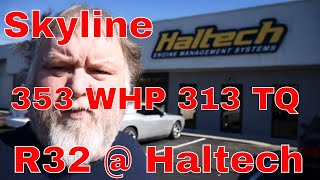 Haltech we take the R32 for a ECU and hit the DYNO