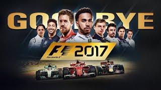 Goodbye F1 2017